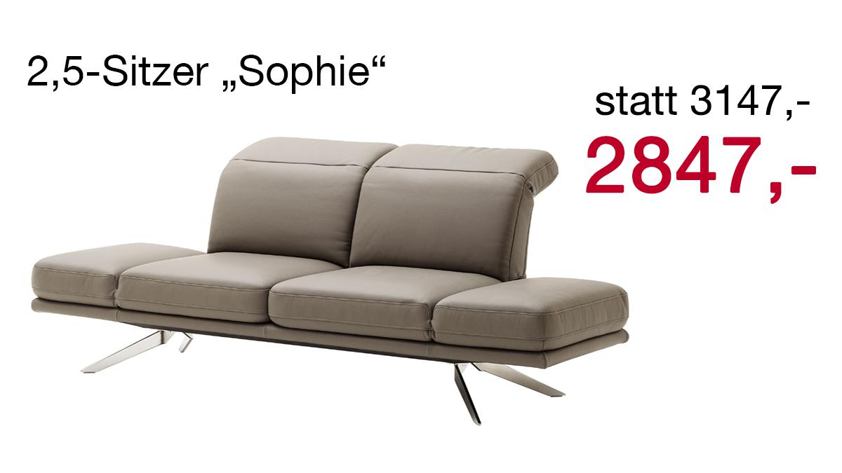Sofa Tausch Prämie McPolser Sophie 2,5-Sitzer